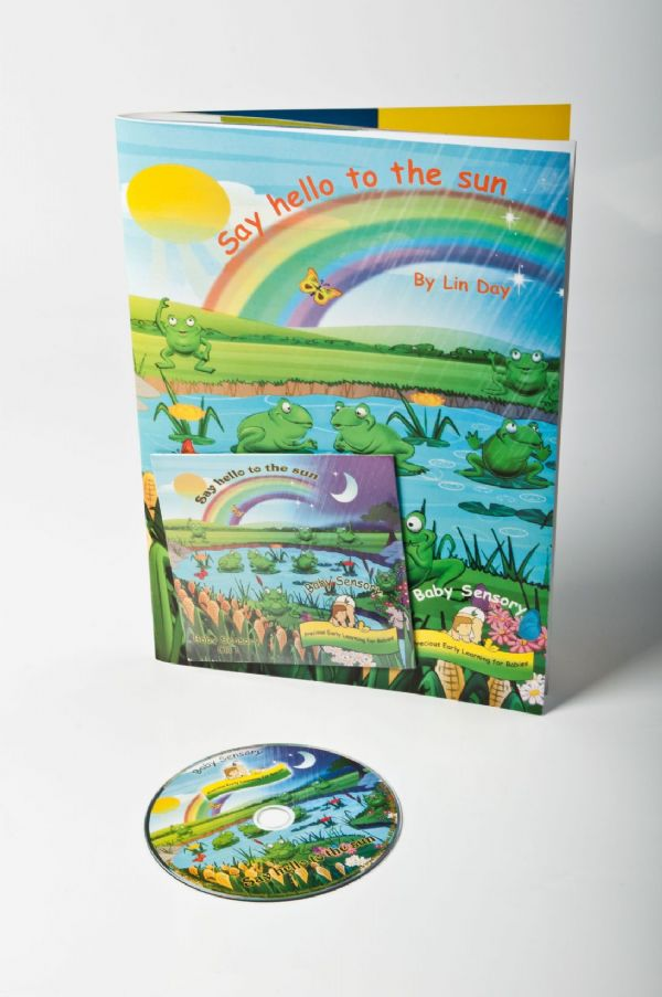 Baby Sensory 'Say Hello to the Sun' Book and CD